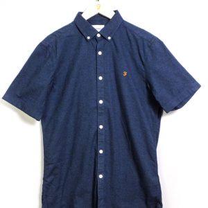 Farah Steen S/S Shirt - Farah Teal