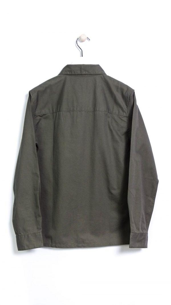 Farah Dallam LS Twill Shirt - Farah Green