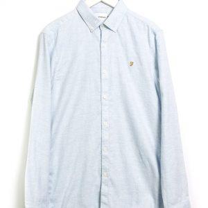 Farah Kreo LS Shirt - Moonstone