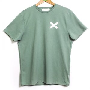 Edmmond Studios Cross Tee - Plain Green