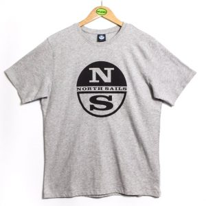 North Sails Graphic Tee - Grey