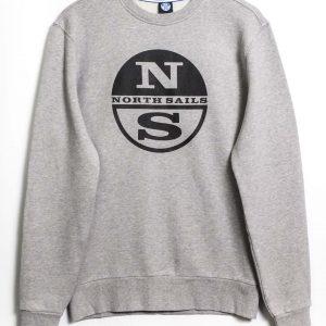North Sails Graphic Sweater - Grey