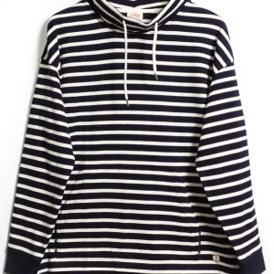 Armor-Lux Striped Sweatshirt Heritage - Navy/Nature