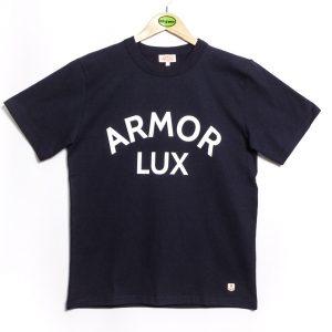 Armor-Lux MC Sérigraphié Héritage T-Shirt - Navy