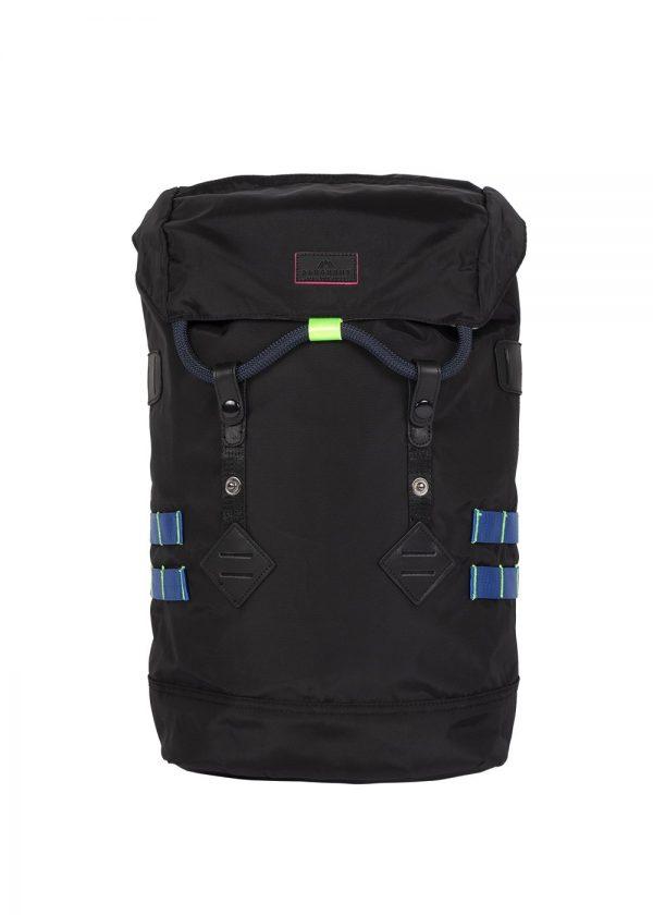 Doughnut Colorado Small Backpack - Black x Neon