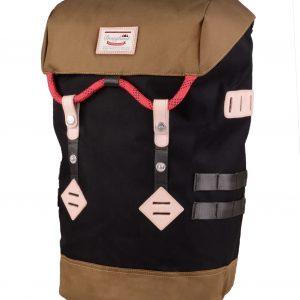 Doughnut Colorado Backpack - Black & Khaki