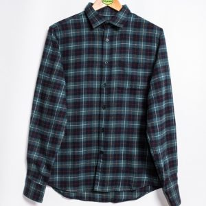Edwin Don Shirt - Greener Pastures / Navy Garment Washed