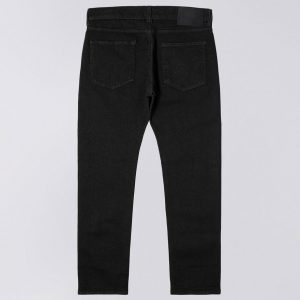 Edwin ED-80 CS Ayano Black Denim 11.8oz Rinsed