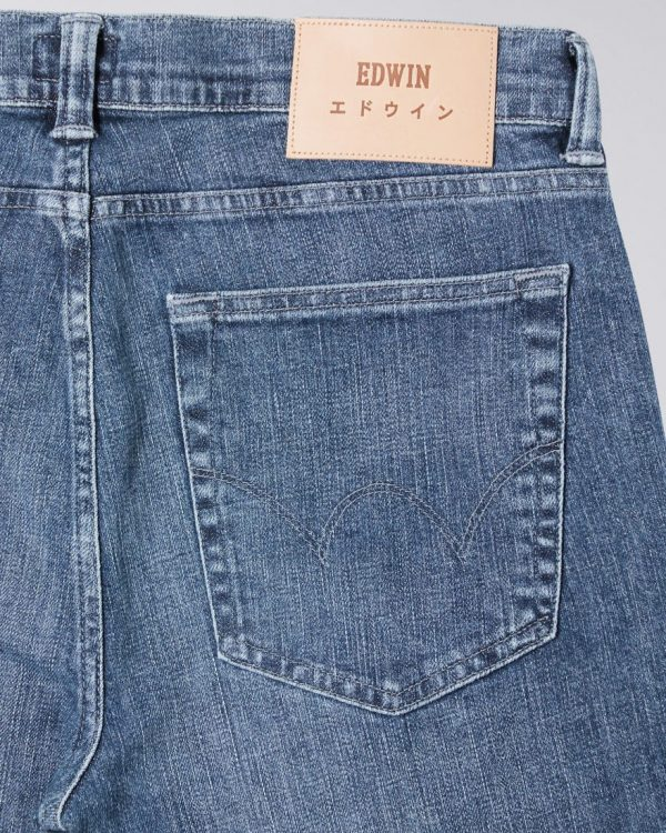 Edwin ED-85 CS Yuuki Blue Denim - Tsukiya Wash
