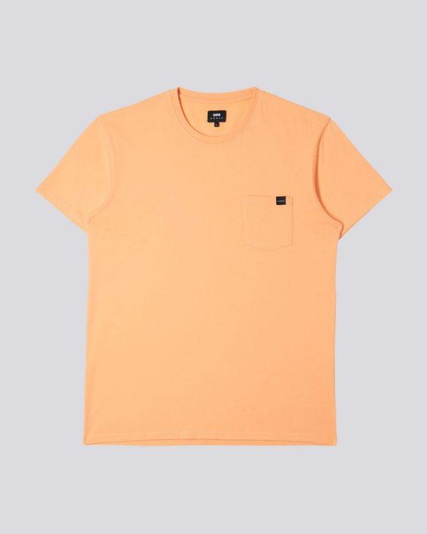 Edwin Pocket T-Shirt - Cantaloupe