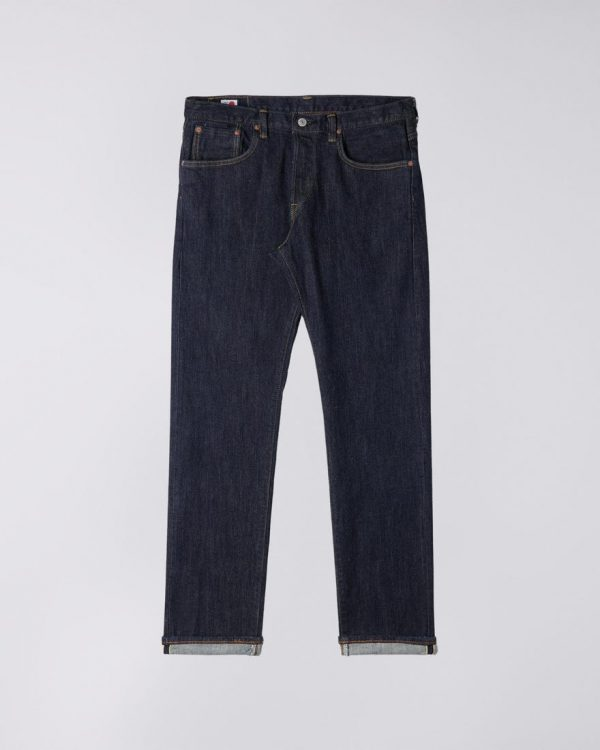 Edwin Regular Tapered 14oz Stretch selvage Rainbow - Blue Rinsed