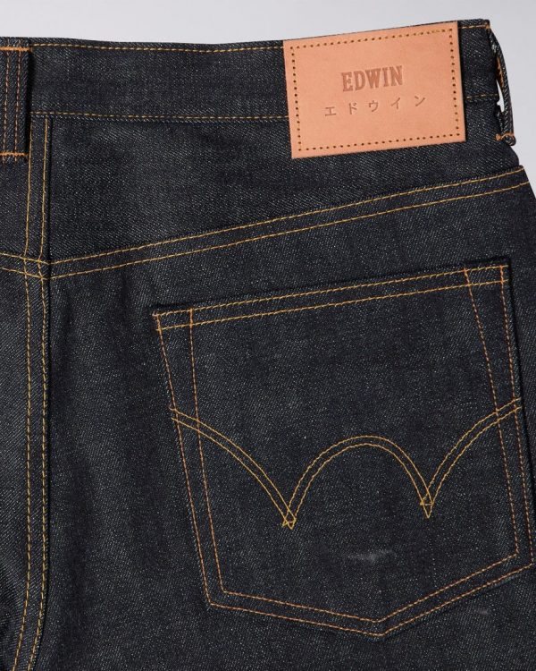 Edwin Made In Japan Regular Tapered 13.5 oz - Blue Raw State Rainbow