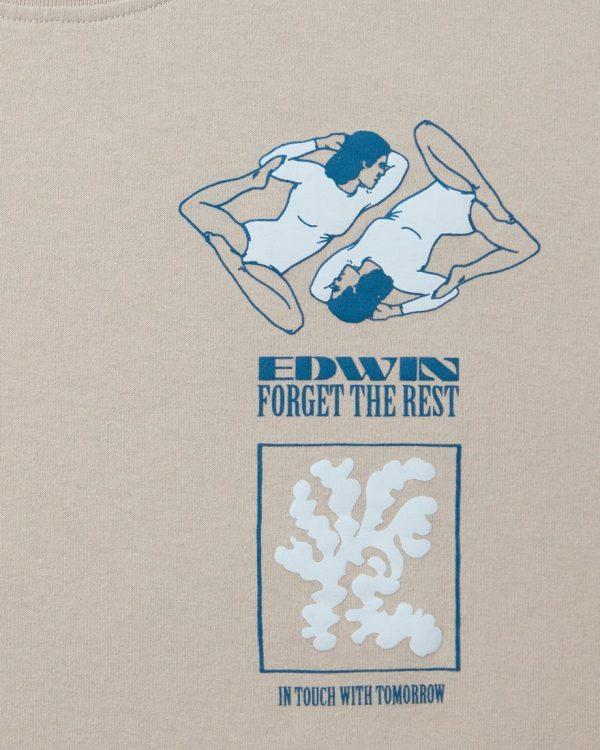 Edwin Self Examination T-Shirt - Silver Cloud