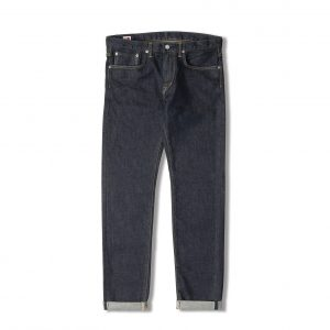 Edwin Made In Japan Slim Tapered 12oz Selvage - Rinsed