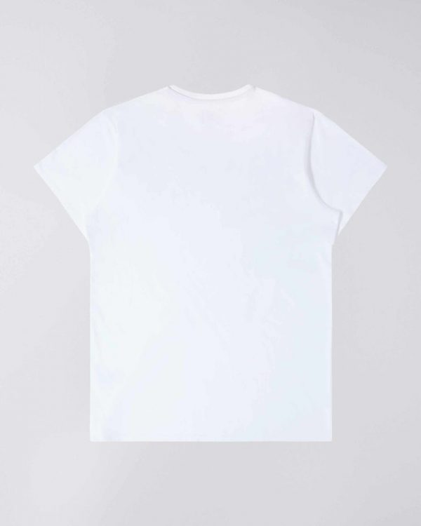 Edwin The Wave T-Shirt - White