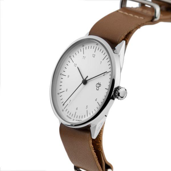 CHPO Harold Watch - Brown/White