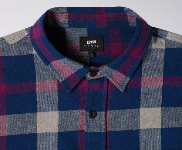 Edwin Labour Shirt - Dress Blue