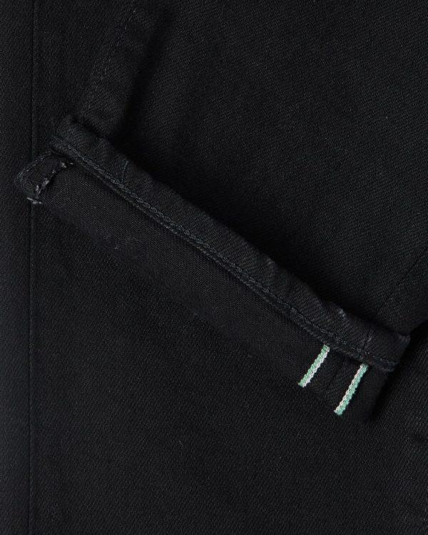 Edwin Made In Japan Slim Tapered Black x Black Selvage - Rinsed