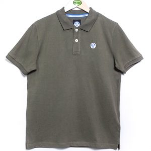 North Sails Pique Polo - Deep Green