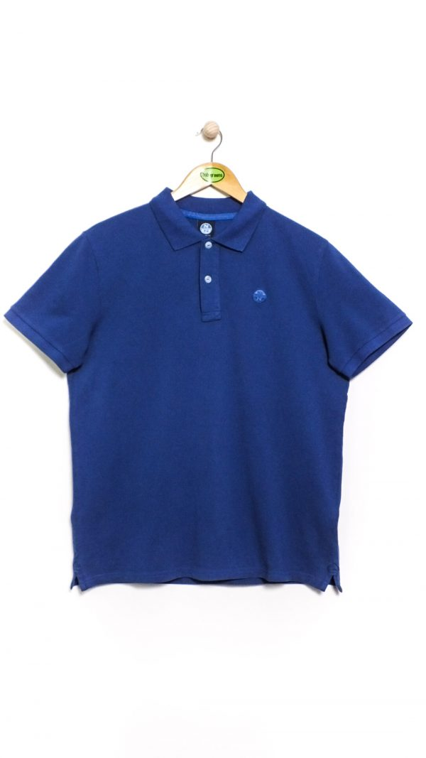 North Sails Pique Polo - Ocean Blue