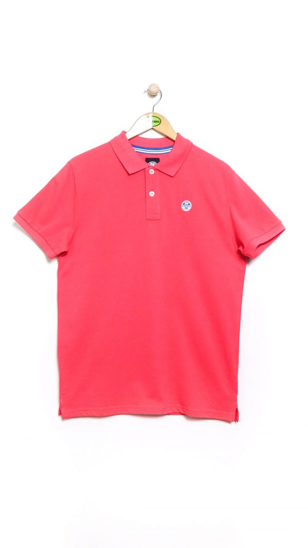 North Sails Pique Polo - Rouge Red