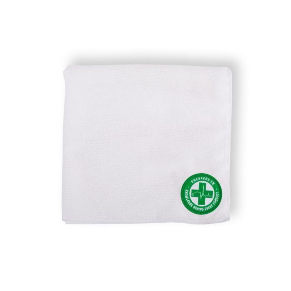 Sneakers ER Microfibre Cleaning Cloth - White