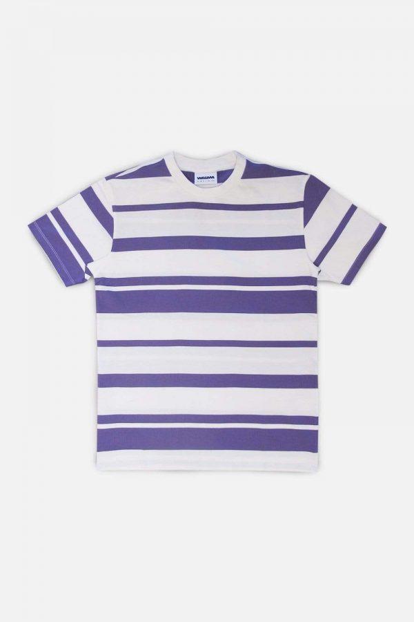 WAWWA Lilac Stripe T-Shirt - Custom Box Fit