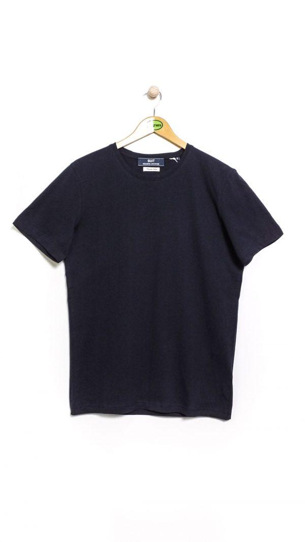 Suit Modern Archives Baldur T-Shirt - Navy Blazer