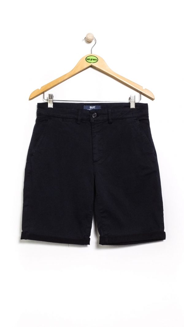 Suit Modern Archives Gas Chino Shorts - Navy Blazer