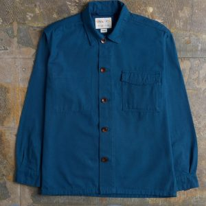 Uskees Buttoned Workshirt - Blue