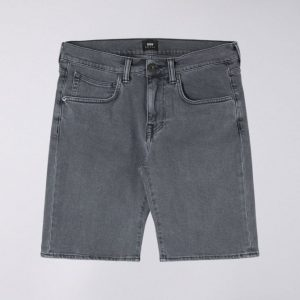 Edwin ED-55 Short CS Power Black Denim - Bristol Wash