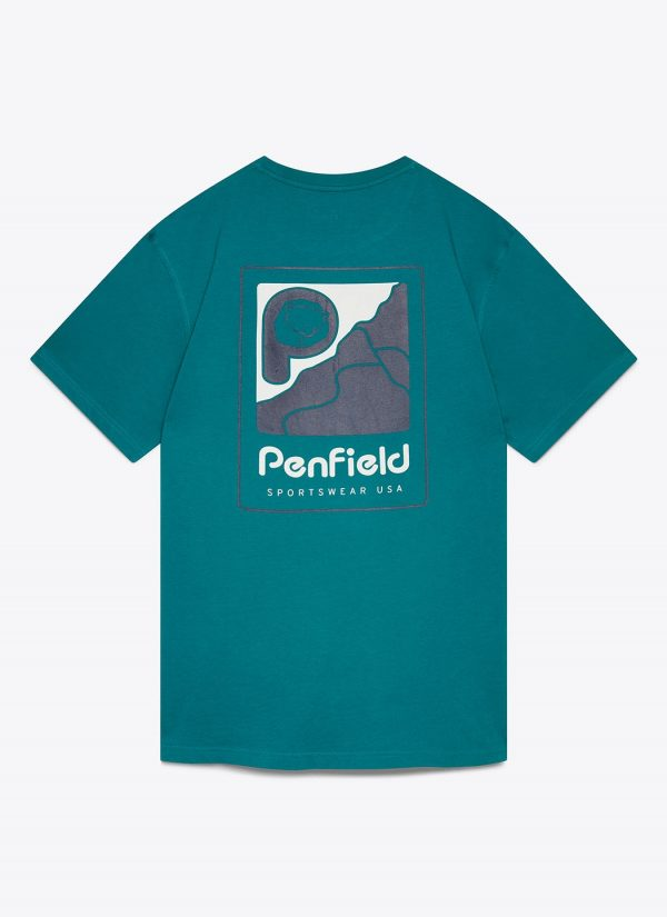 Penfield Perkins T-Shirt - Dark Teal
