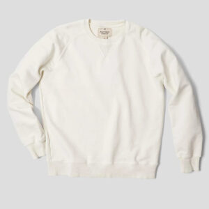 Nigel Cabourn Embroidered Arrow Crew Sweat - Natural