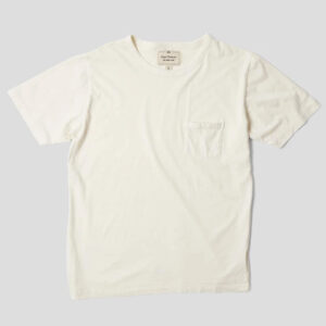 Nigel Cabourn Military Pocket Tee - Natural