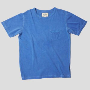 Nigel Cabourn Military Pocket Tee - Washed Blue