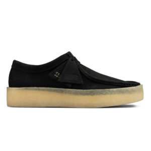 Clarks Originals Wallabee Cup - Black Nubuck