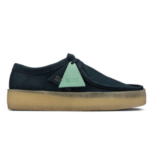 Wallabee Cup Blue Nubuck