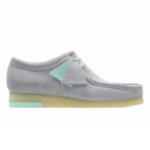 Clarks Wallabee Grey Combi